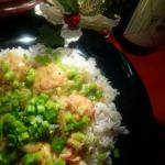 Australian Shrimp Curry with Coconut Milk Drink