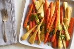 American Stovetopbraised Carrots and Parsnips Recipe Appetizer