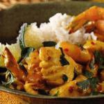 Caribbean Caribbean Viscurry with Peppers Ginger and Bosuitjes Appetizer