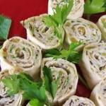 Mexican Mexican Cream Cheese Rollups Recipe Appetizer