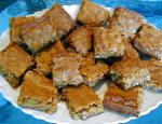 American Coconut Blondies 2 Dessert