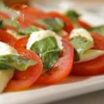 Italian Caprese Salad Simple Appetizer