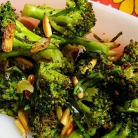 Greek Broccoli with Hazelnuts Appetizer