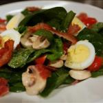 French Spinach Salad 24 Alcohol