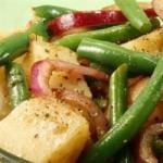 Australian Warm Green Bean and Potato Salad with Goat Cheese Recipe Dinner