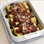 Canadian Spinach and Feta Cannelloni Dinner