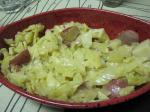 French Cabbage With Potatoes Appetizer