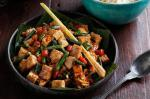 American Stirfried Tofu Tempeh And Snake Beans Recipe Appetizer