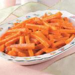 American Sweet Candied Carrots Appetizer