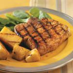 Australian Teriyaki Pineapple and Pork Chops Appetizer