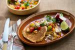 British Fresh Corn Griddle Cakes With Spicy Salsa Recipe Appetizer