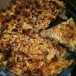 Australian Rest Quiche with Ham Zucchini and Carrots Appetizer