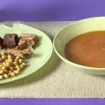 British Cocido Madrileno stew from Madrid Appetizer