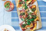 Australian Salami And Goats Cheese Pizza Recipe Appetizer