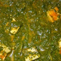 Indian Healthy Chicken with Spinach Appetizer