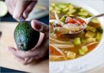 French Chicken Soup With Lime and Avocado Recipe Appetizer