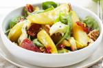 American Warm Pear Spinach And Blue Cheese Salad Recipe Dessert