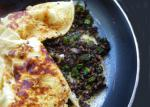 Canadian Green Onion and Mushroom Omelet Appetizer