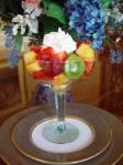 Caribbean Caribbean Fruit Salad With Coconut Cream Dressing Appetizer