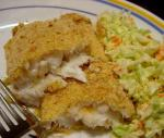 American Parmesan Fish in the Oven Dinner