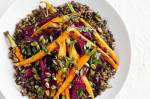 French Lentil Roast Beetroot And Baby Carrot Salad Recipe Appetizer