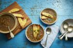 French Onion Soup With Cheesy Croutons Recipe Appetizer