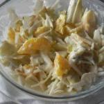 American Chicory Salad with Fruit and Blueveined Cheese Appetizer