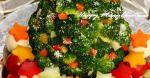 Canadian Colorful Christmas Tree Salad 1 Appetizer