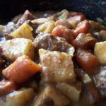 American Slow Cooker Beef Stew I Soup
