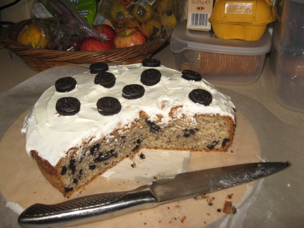 American Oreo Pound Cake or Cookies N Cream Pound Cake or the Cake That I Dessert