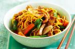 American Fivespice Pork And Plum Stirfry Recipe Appetizer