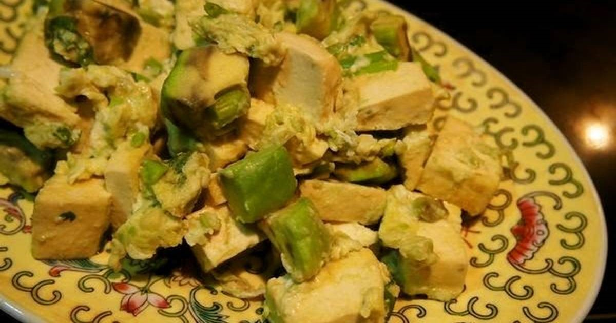American Avocado and Firm Tofu with Egg 2 Appetizer