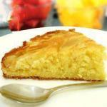 American Cake of Apples and Almonds 2 Dessert