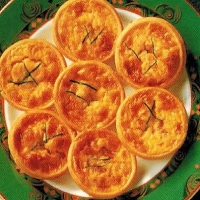 Spanish Mini Quiches Lorraines Appetizer