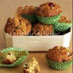 American Mini Cakes with Candied Fruit or Muffins with Candied Fruit Dessert