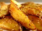 American Spicysesame Oven Fried Potatoes Appetizer