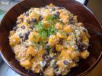 American Sweet Potatoes and Black Beans Dessert
