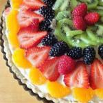 Canadian Fruit Cake with White Chocolate Dessert