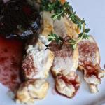 American Chicken Breasts with Prunes and Red Wine 1 Appetizer