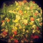 Chinese Vegetables with Tofu Appetizer