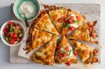 Mexican Beef And Bean Quesadillas Recipe Appetizer