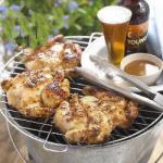 American Grilled Chicken with Marinated Ginger BBQ Grill