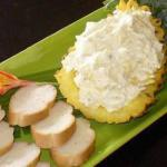 American Sandwich with Pineapple Cream Cheese Appetizer