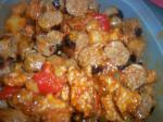 Sweet N Sour Spicy Sausage recipe