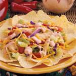 Mexican Taco Chicken Salad Appetizer