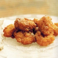American Creole Rice Fritters Dinner