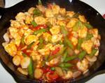 Chinese Sweet and Sour Stirfry Chicken 1 Appetizer