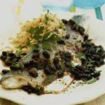 Chinese Steamed Perch with Black Beans Dinner