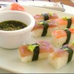 Tuna and Prawn Sushi recipe