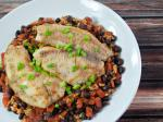 Spanish Southern Tilapia with Rice and Beans En Dinner